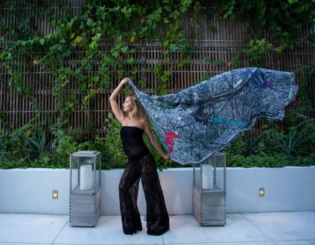 Sasha Berry coleção de lenços